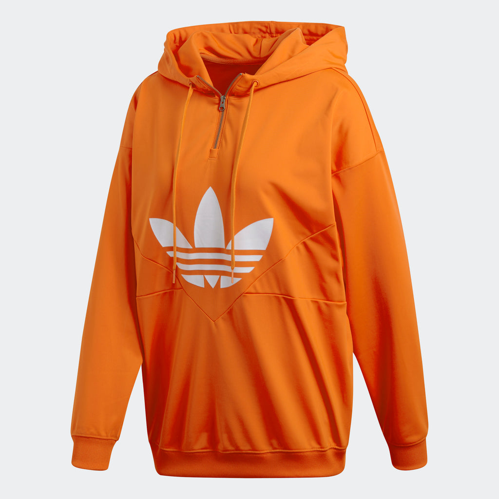 Women's adidas Originals CLRDO Hoodie Bold Orange