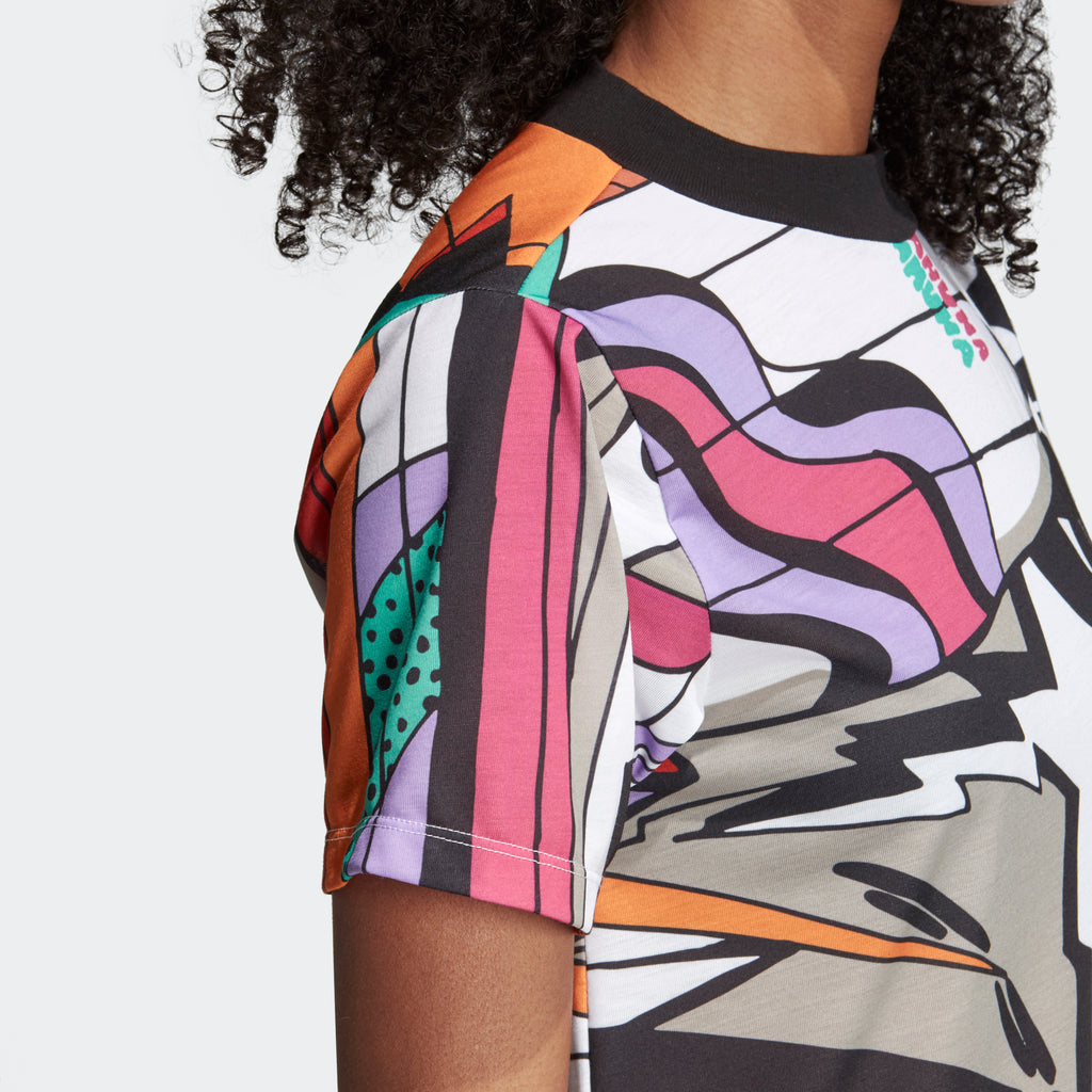 Women's adidas Originals Collective Memories Tee Multicolor Beach