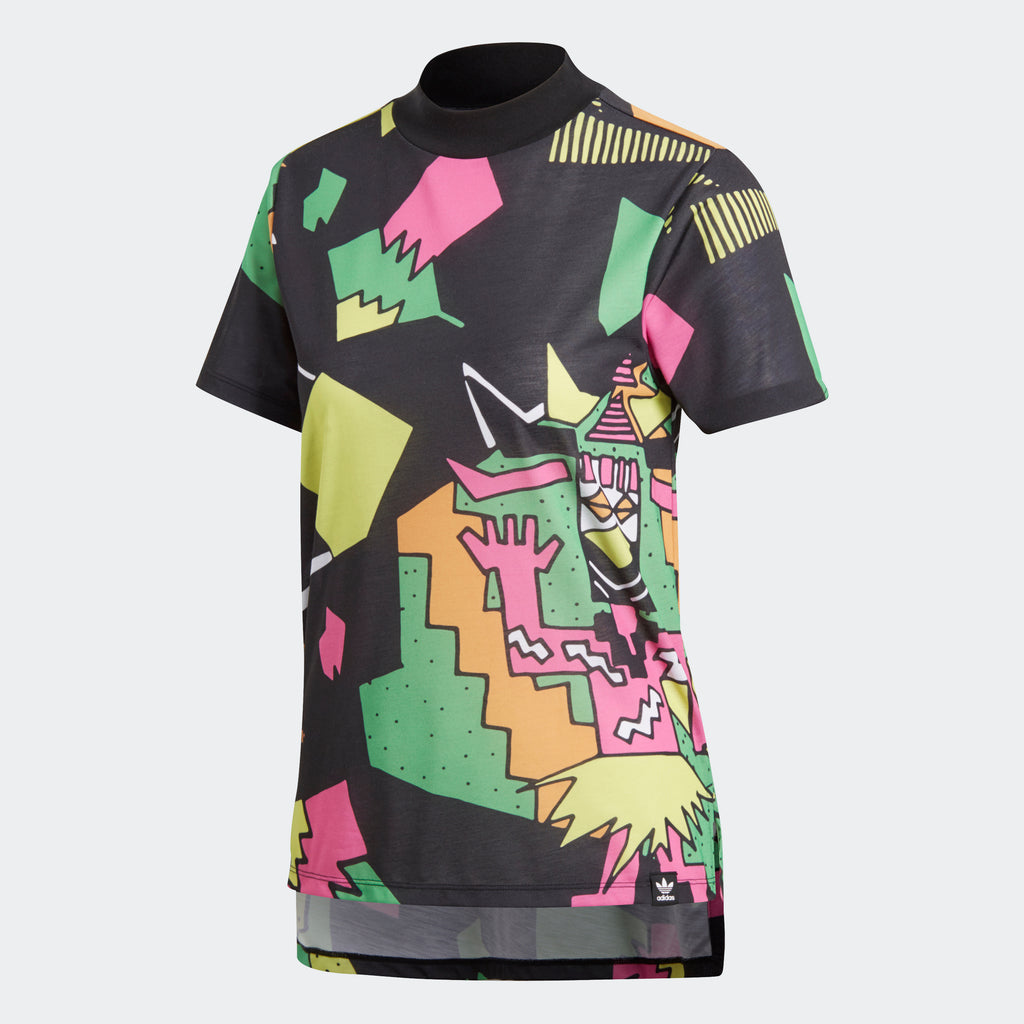 Women's adidas Originals Collective Memories Tee Multicolor Pop Art