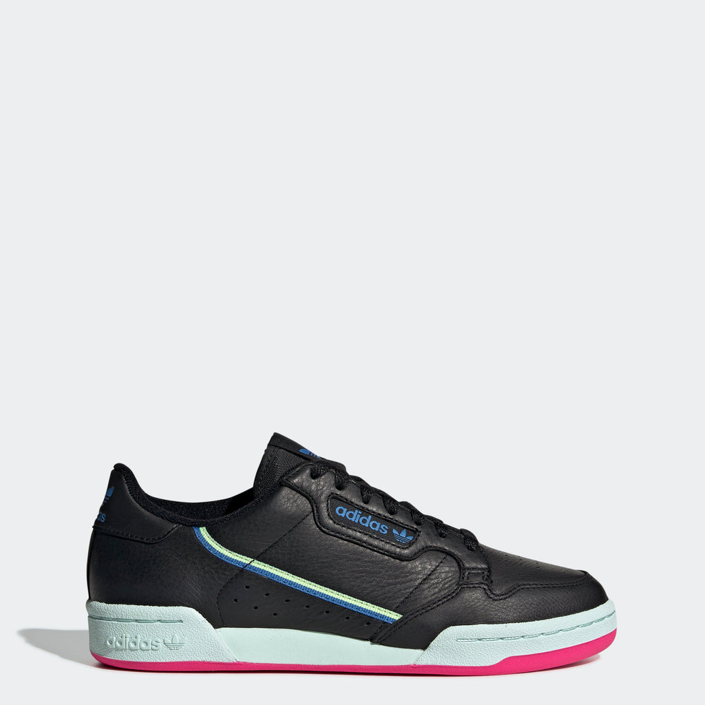 Women's adidas Originals Continental 80 Shoes Black Blue