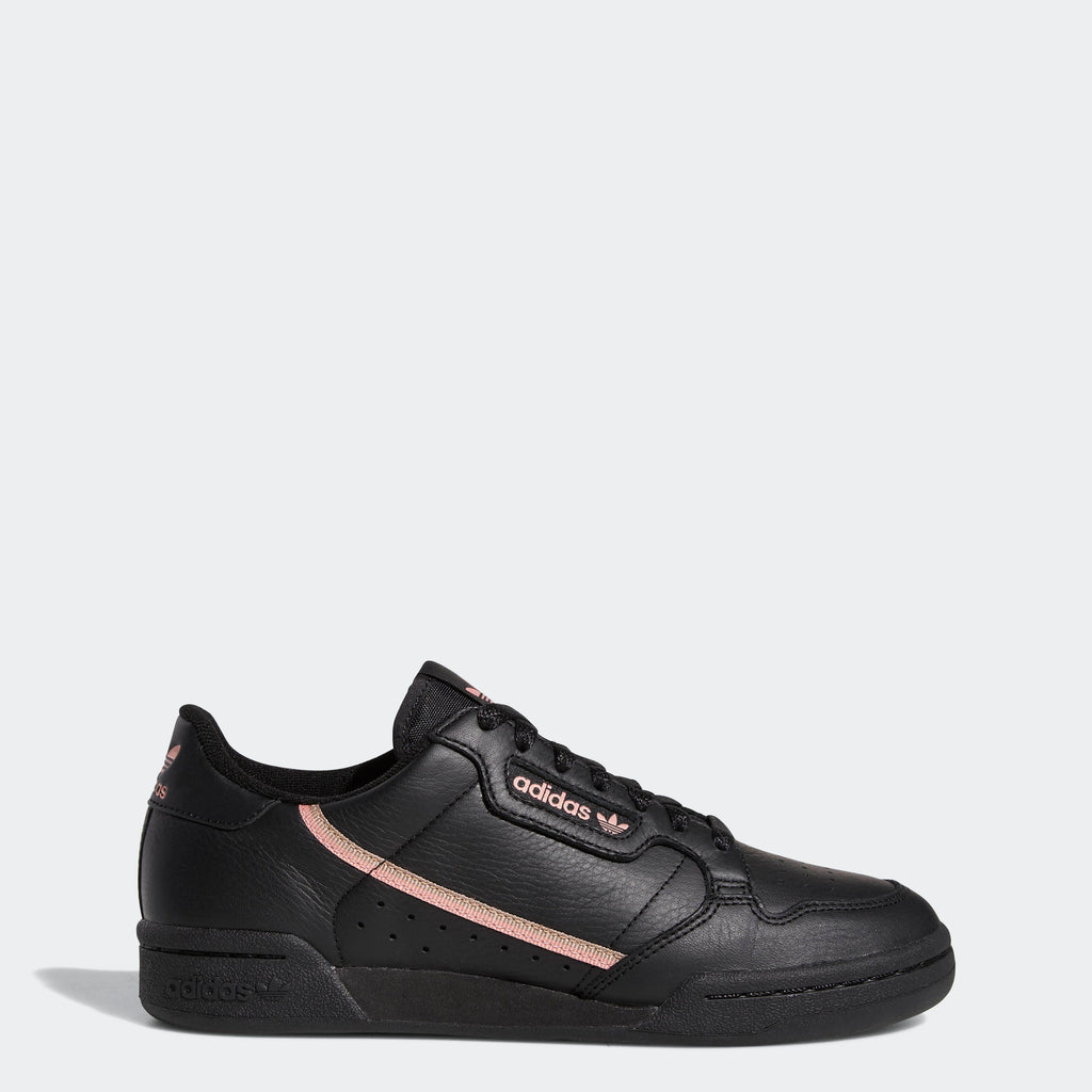 Women's adidas Originals Continental 80 Shoes Black Pink