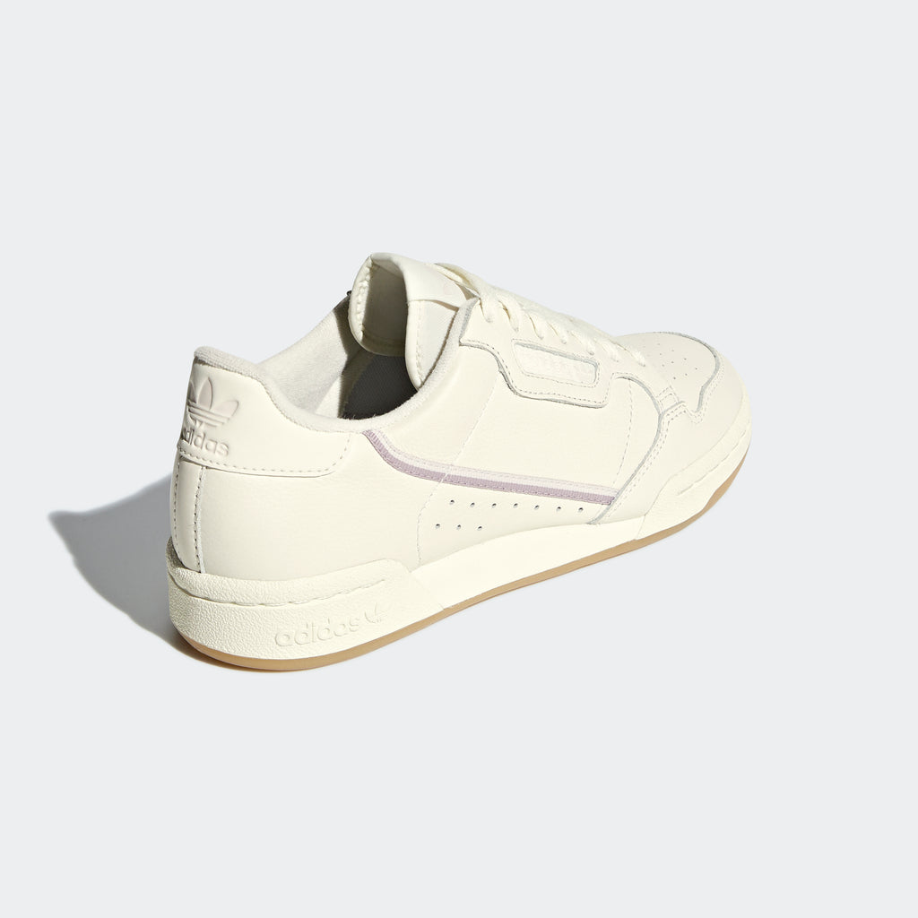 Women's adidas Continental 80 Shoes Off White G27718 | diagonal rear view
