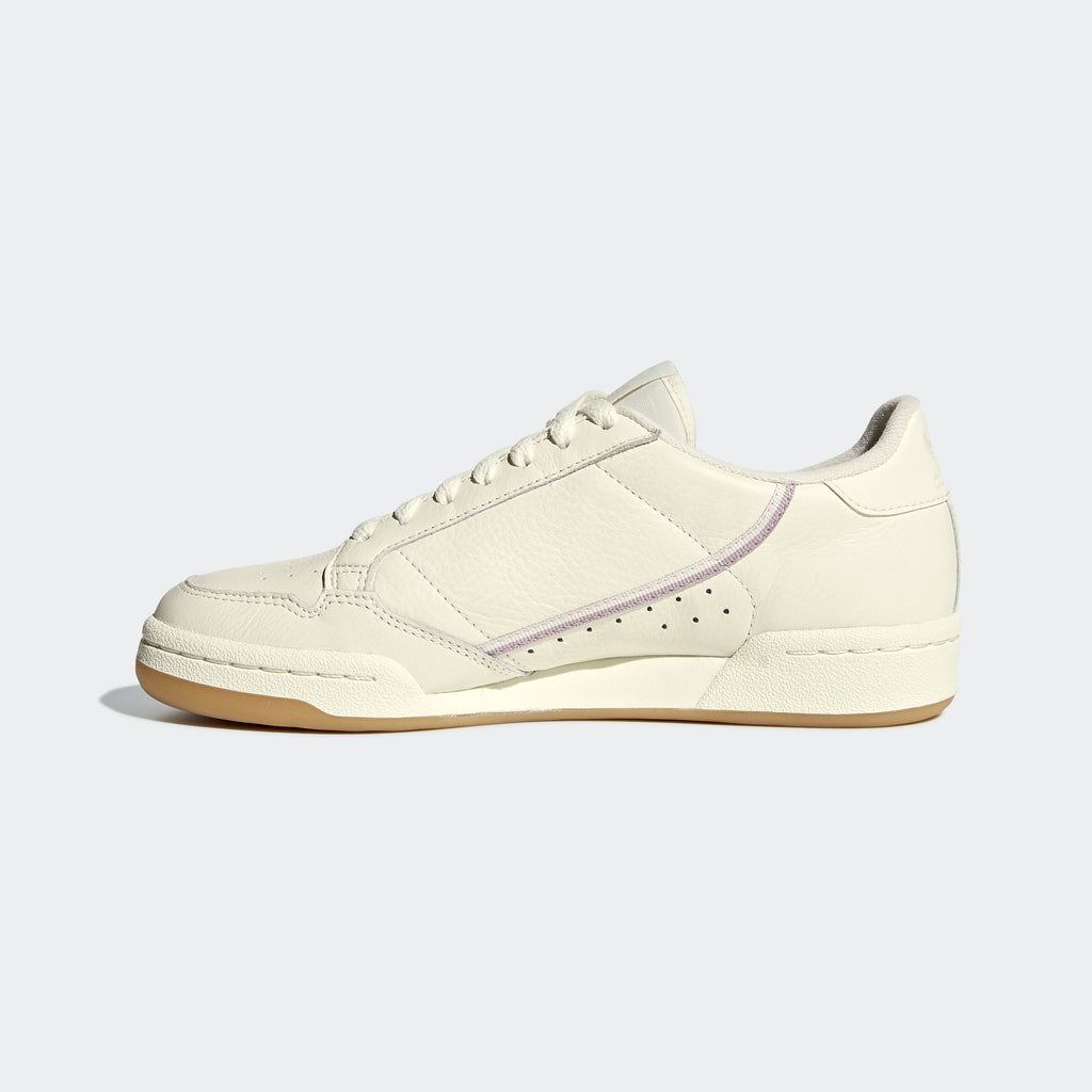 Women's adidas Continental 80 Shoes Off White G27718 | interior side view