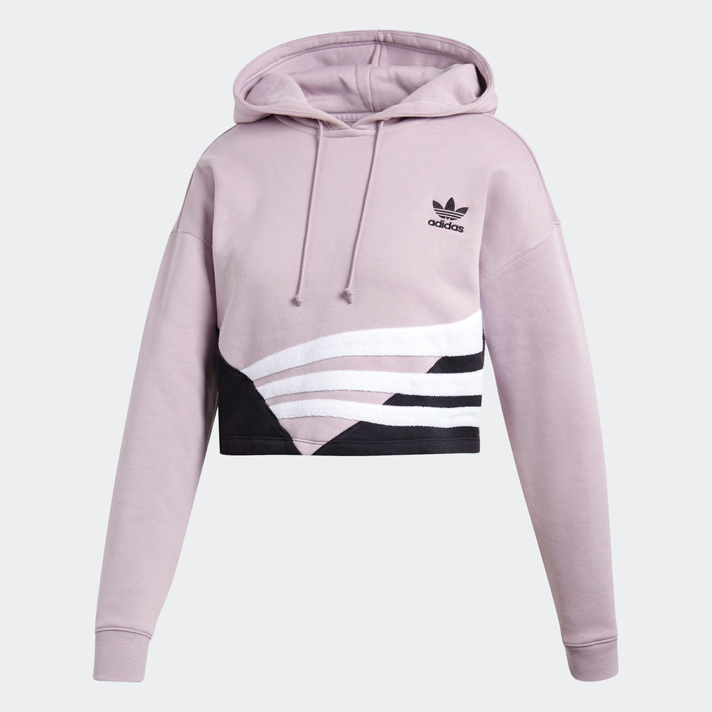 Women's adidas Originals Cropped Hoodie Soft Vision