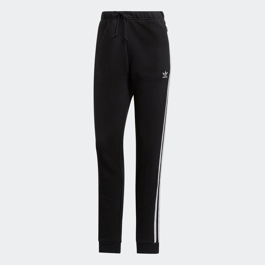 Women's adidas Originals Cuffed Track Pants Black