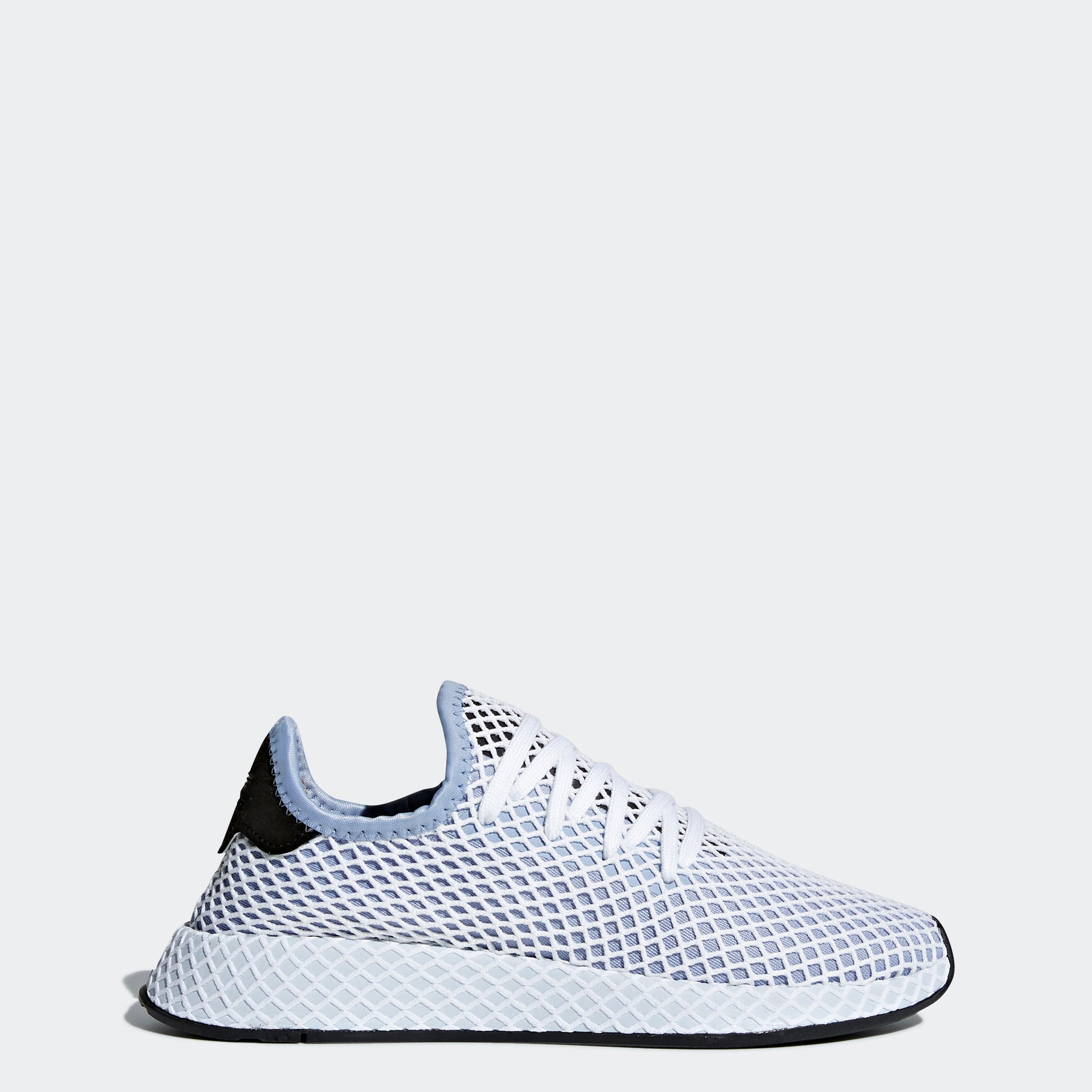 size 40 50717 07cb6 Womens adidas Originals Deerupt Runner Shoes Chalk Blue