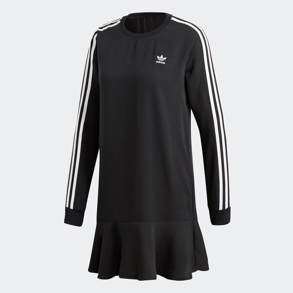Women's adidas Originals Drop Waist Dress Black