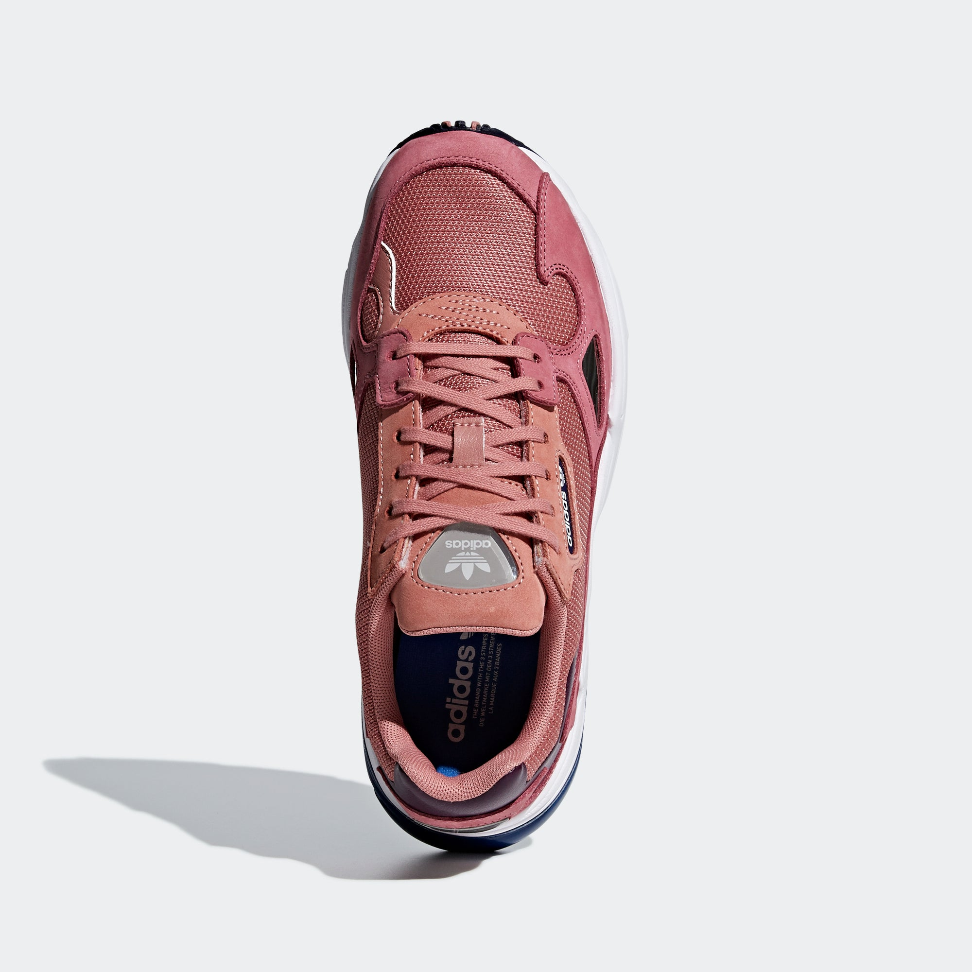 low priced 6c6f6 295fb Women s adidas Originals Falcon Shoes Raw Pink. 1