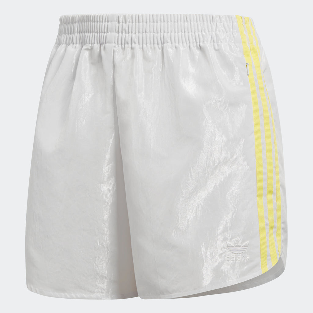 Women's adidas Originals Fashion League Shorts Vintage White