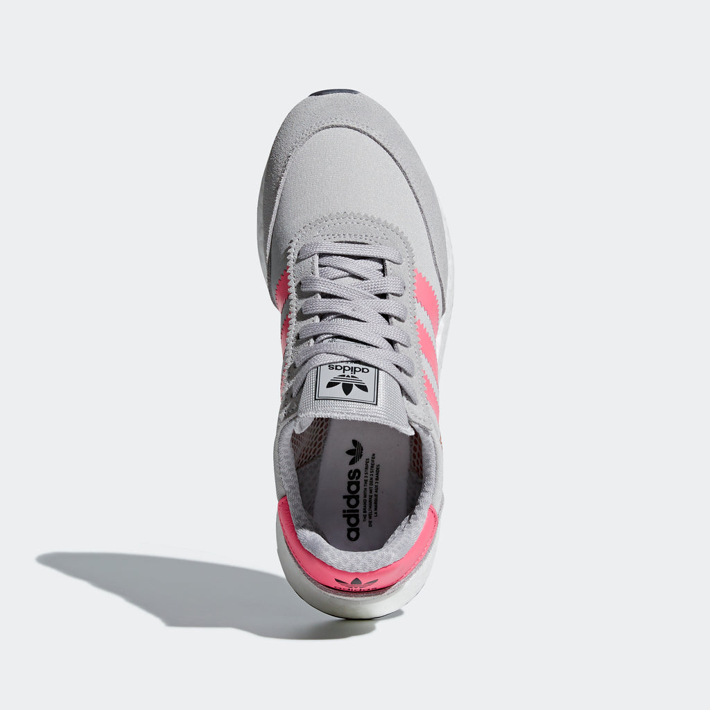 Women's adidas Originals I-5923 Shoes Gray and Chalk Pink