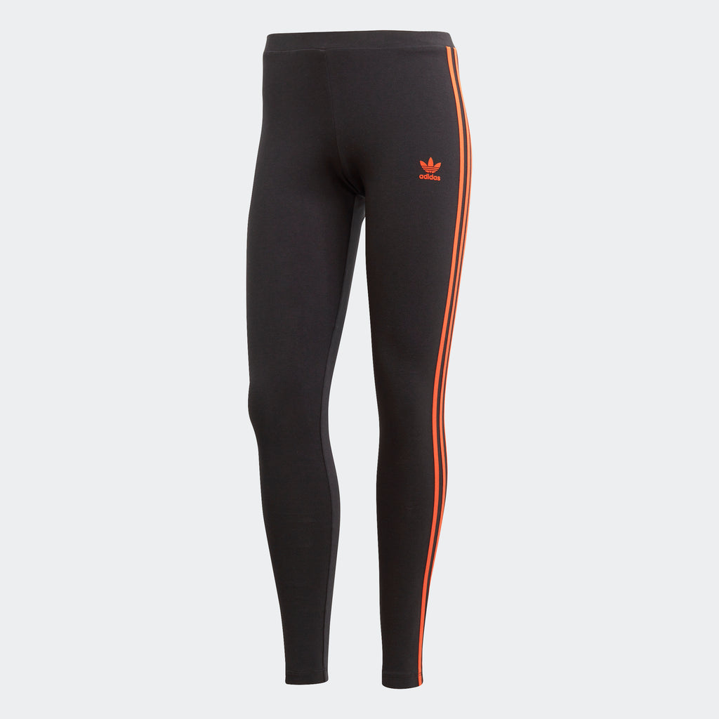 Women's adidas Originals Leggings Black Craft Orange