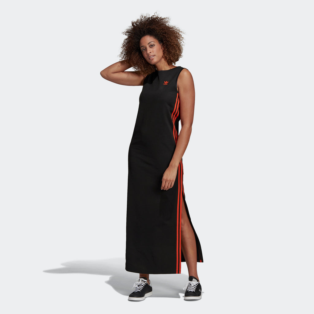 Women's adidas Originals Long Dress Black