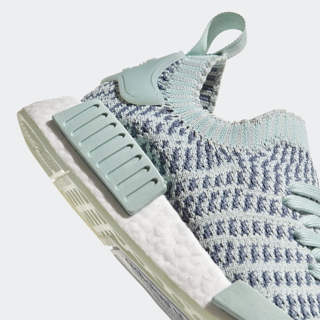 on sale 18a37 9c21b ... Sneakers CQ2031  Womens adidas Originals NMD R1 STLT Primeknit Shoes Ash  Green ...