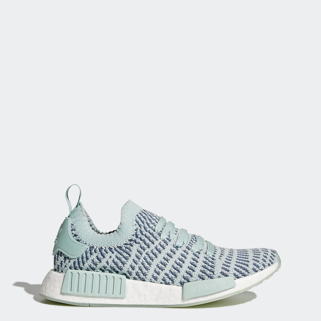 Women's adidas Originals NMD_R1 STLT Primeknit Shoes Ash Green