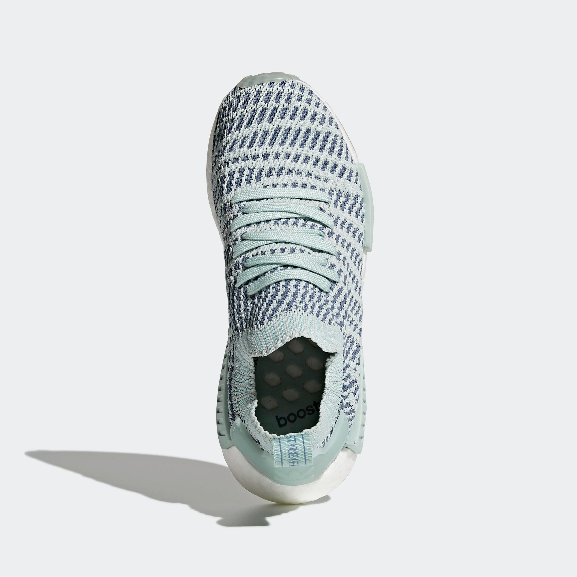 best website 3ba7f 32488 Women s adidas Originals NMD R1 STLT Primeknit Shoes Ash Green. 1