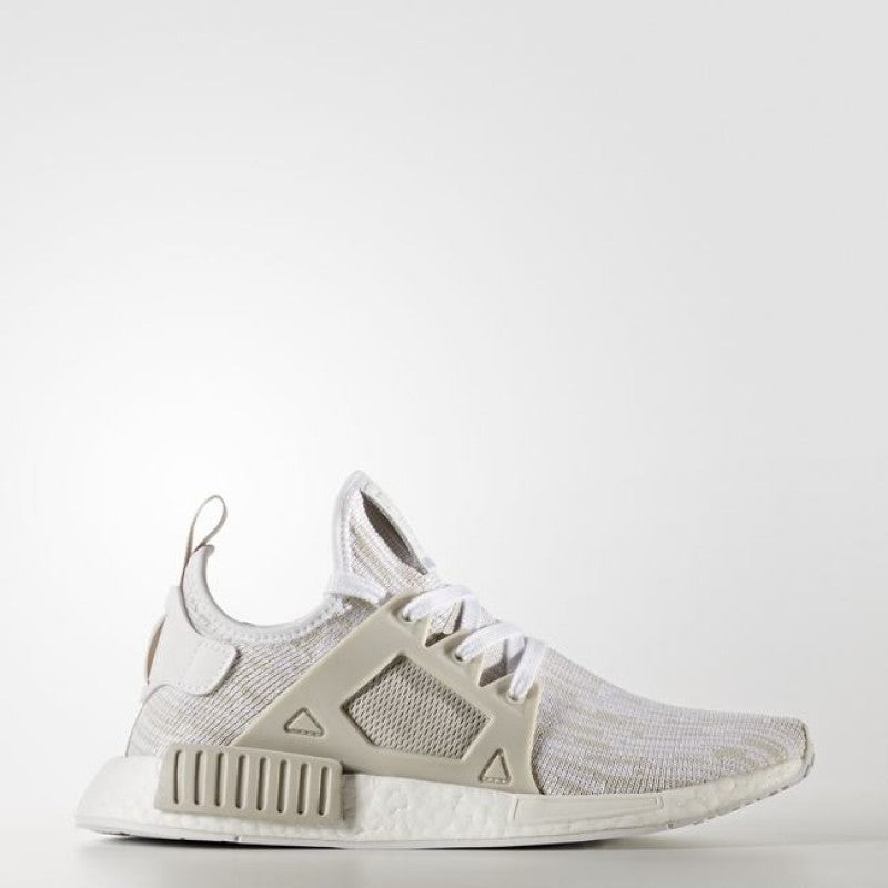 94aeaf17ea2bf Women s adidas Originals NMD XR1 Primeknit Shoes Pearl Grey and White –  Chicago City Sports