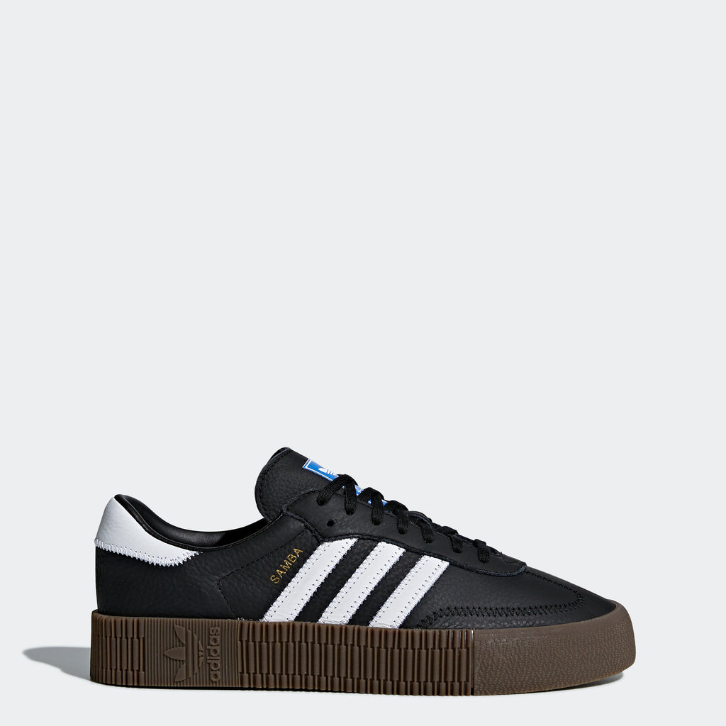 Women's adidas Originals Sambarose Shoes Black White