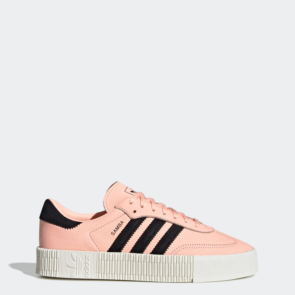 Women's adidas Originals Sambarose Shoes Clear Orange