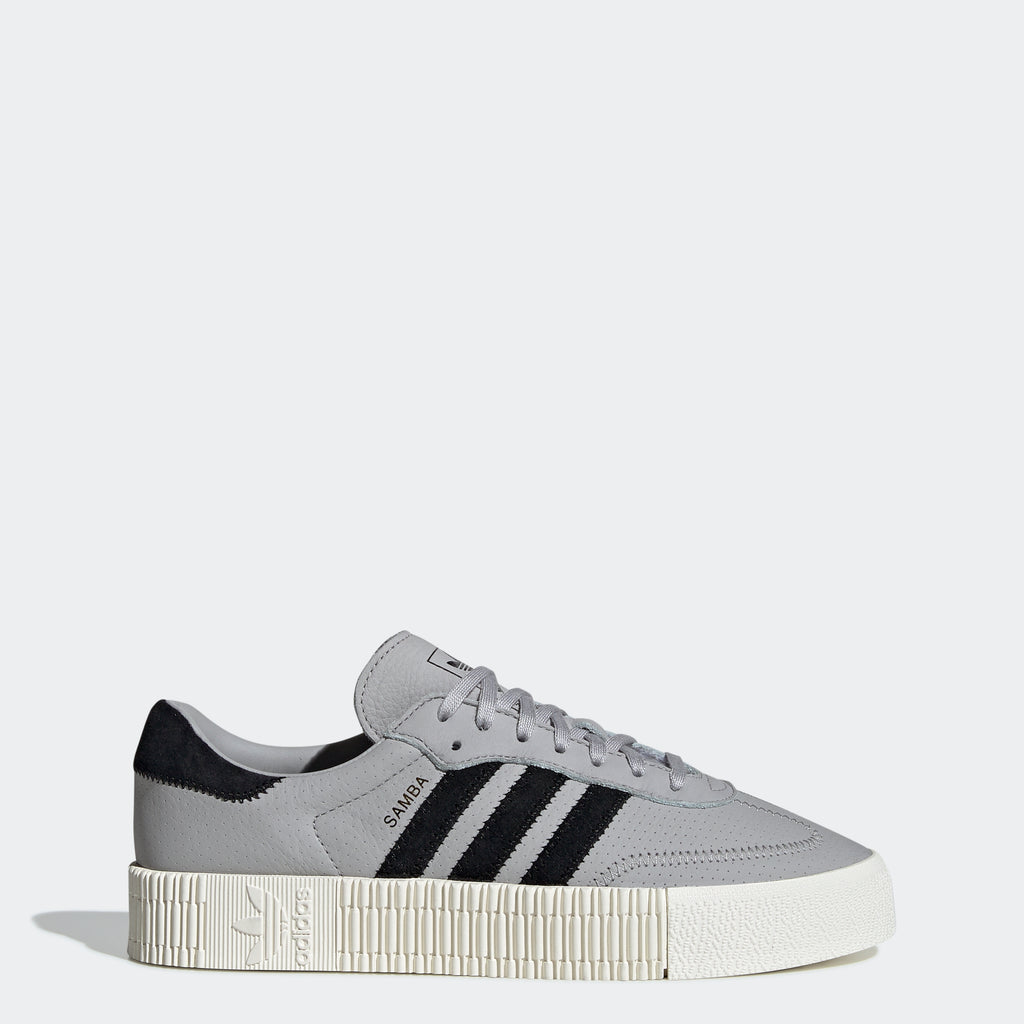 Women's adidas Originals Sambarose Shoes Grey Two