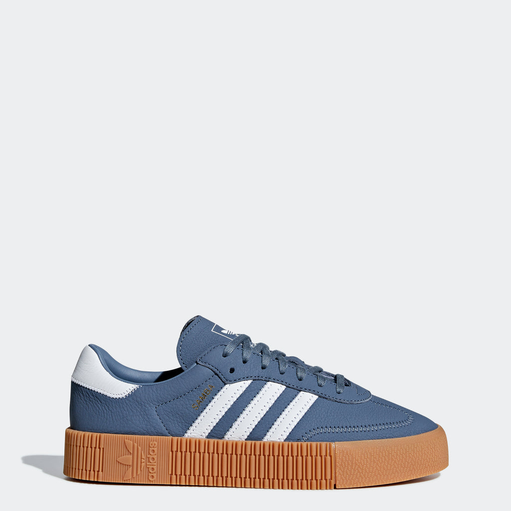 Women's adidas Originals Sambarose Shoes Steel