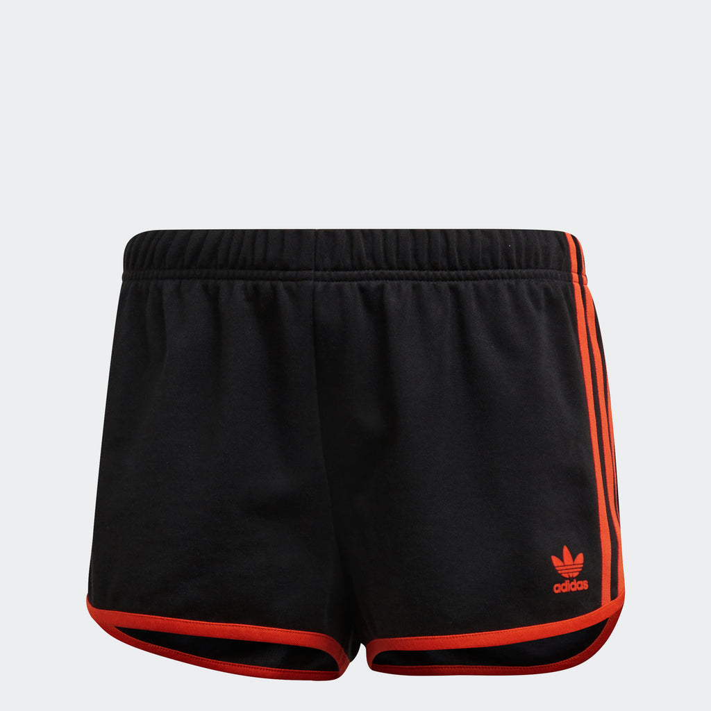 Women's adidas Originals Shorts Black Orange