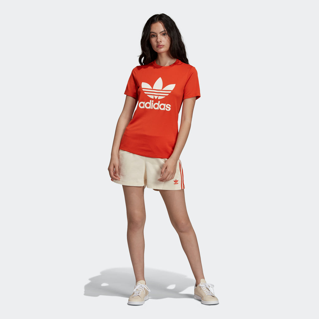 Women's adidas Originals Shorts Ecru Tint