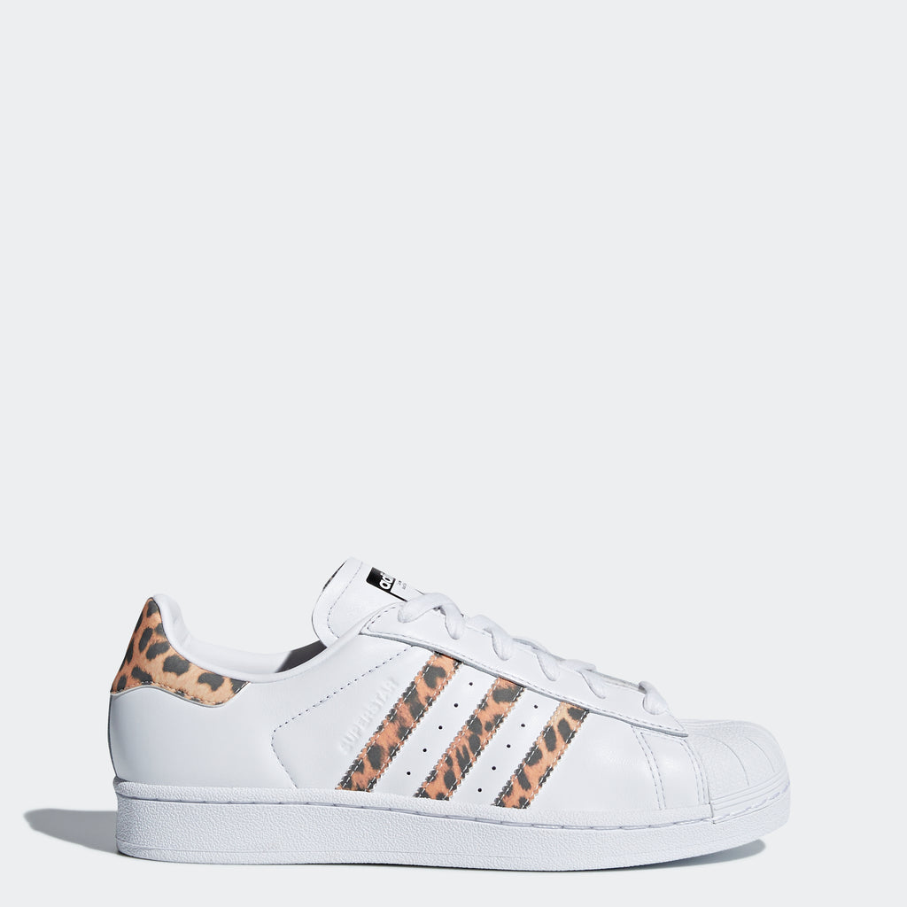 Women's adidas Originals Superstar Shoes White Pony Hair