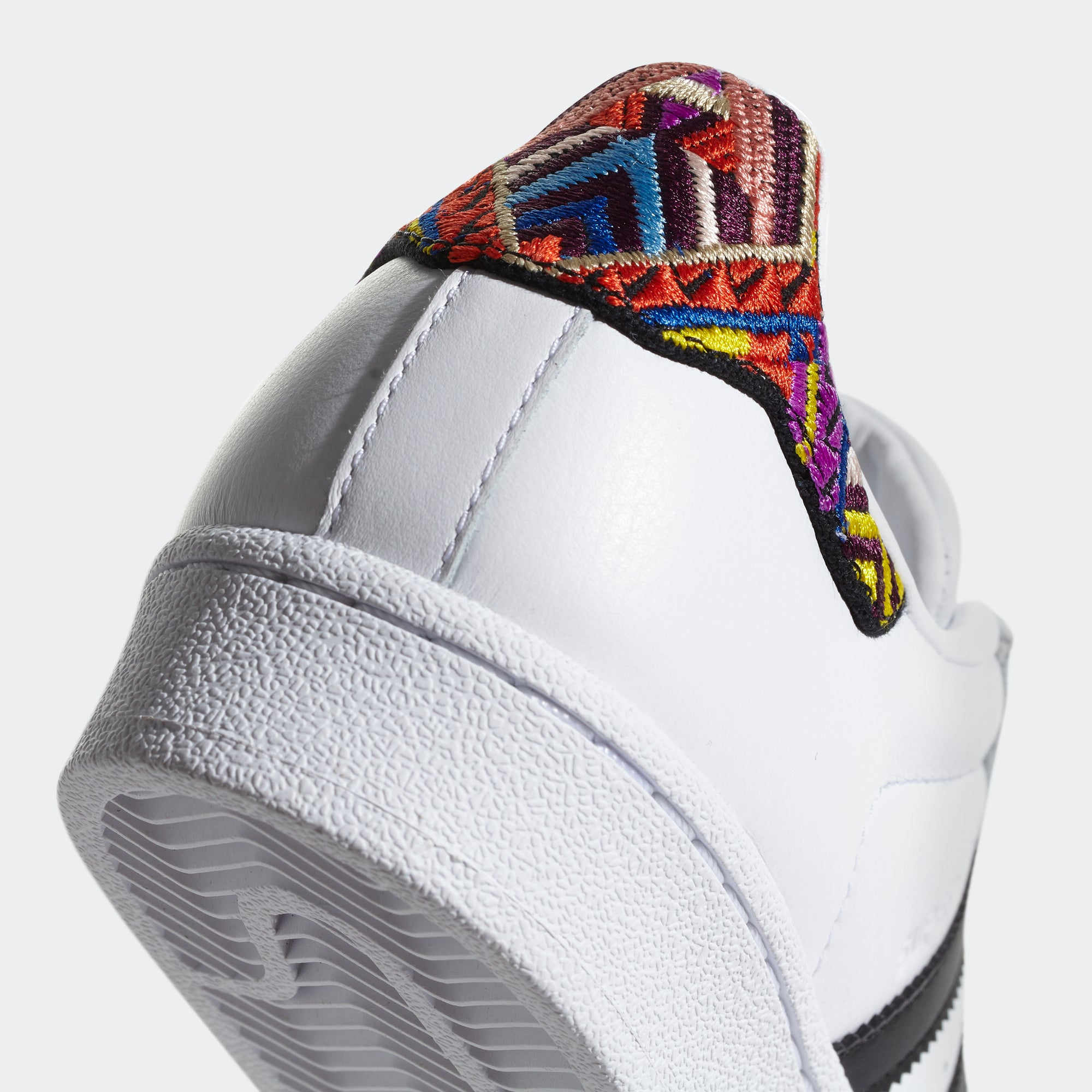 Women's adidas Originals Superstar Shoes White and Multicolor ...