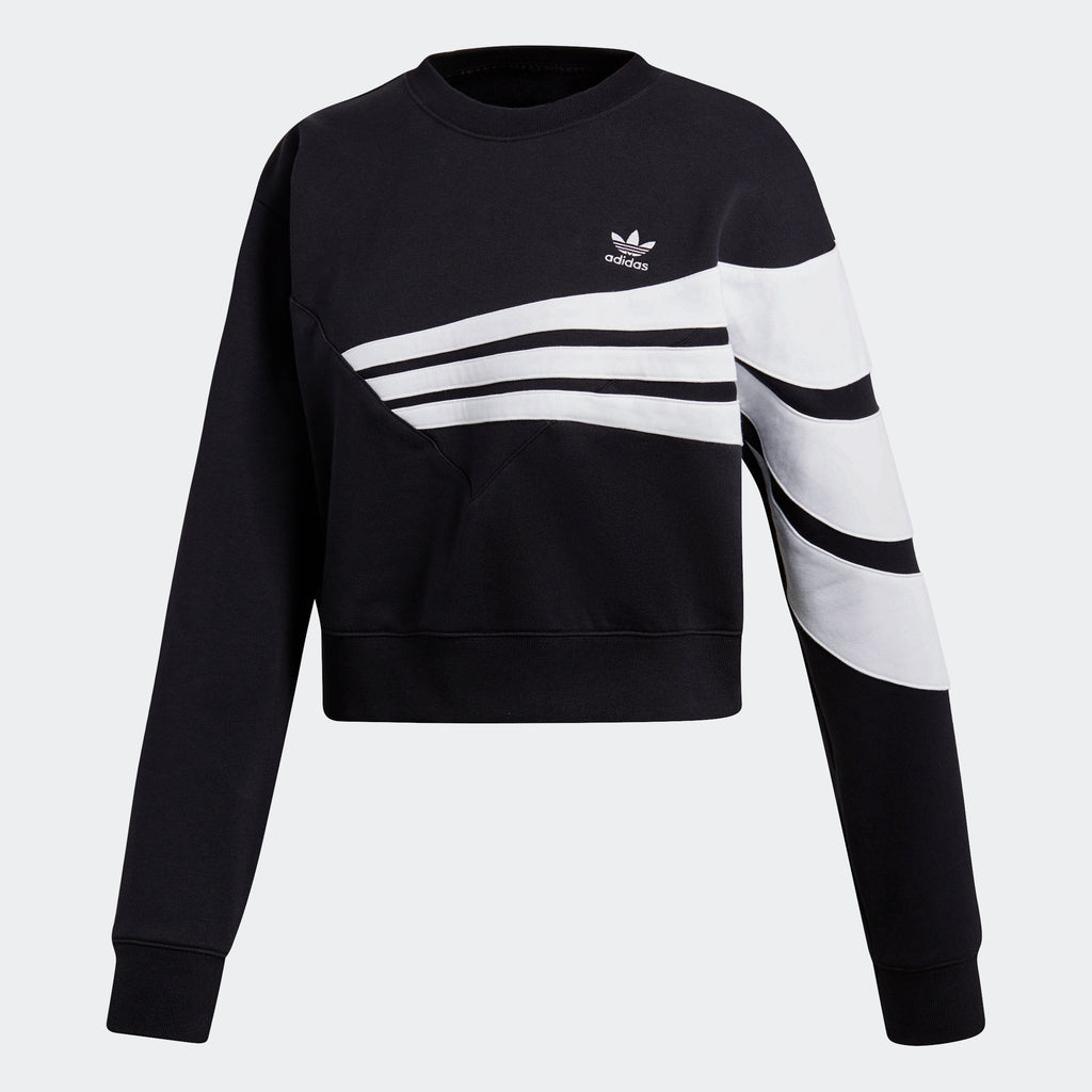 Women's adidas Originals Sweatshirt Colorblock Black