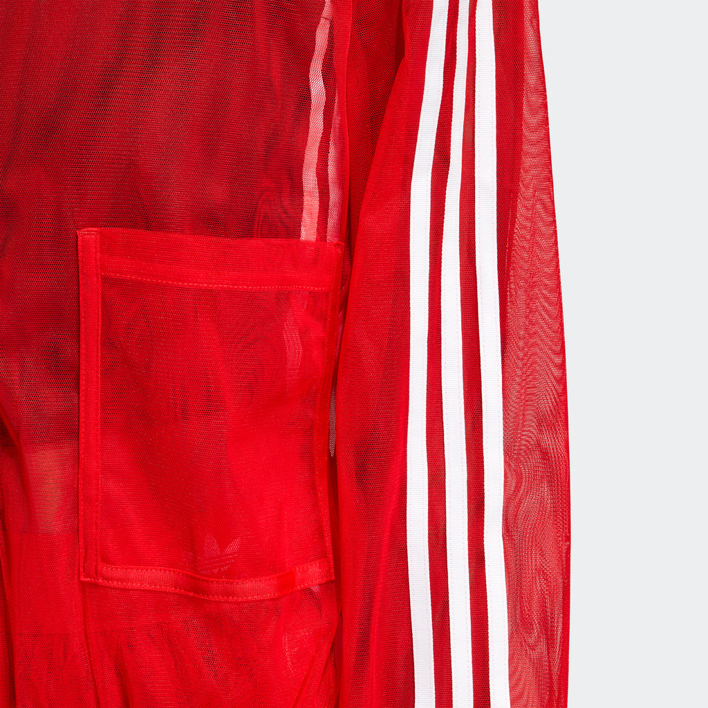 Women's adidas Originals Track Jacket Sheer Red