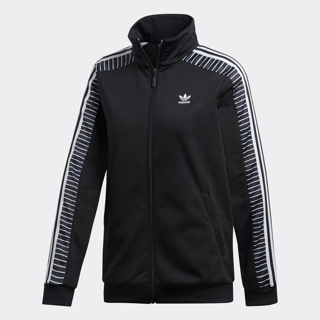 Women's adidas Originals Track Jacket Striped Black