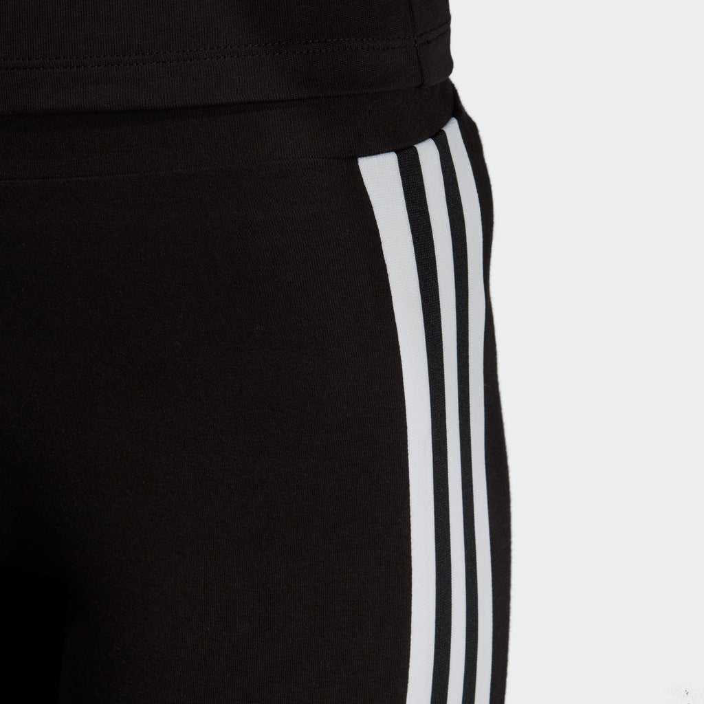 Women's adidas Originals Trefoil 3-Stripes Leggings Black