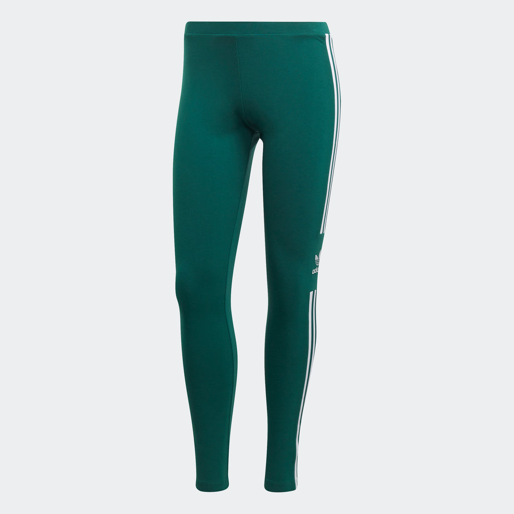 Women's adidas Originals Trefoil Leggings Collegiate Green