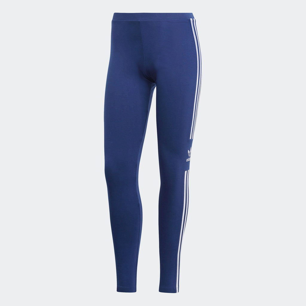 Women's adidas Originals Trefoil Leggings Dark Blue