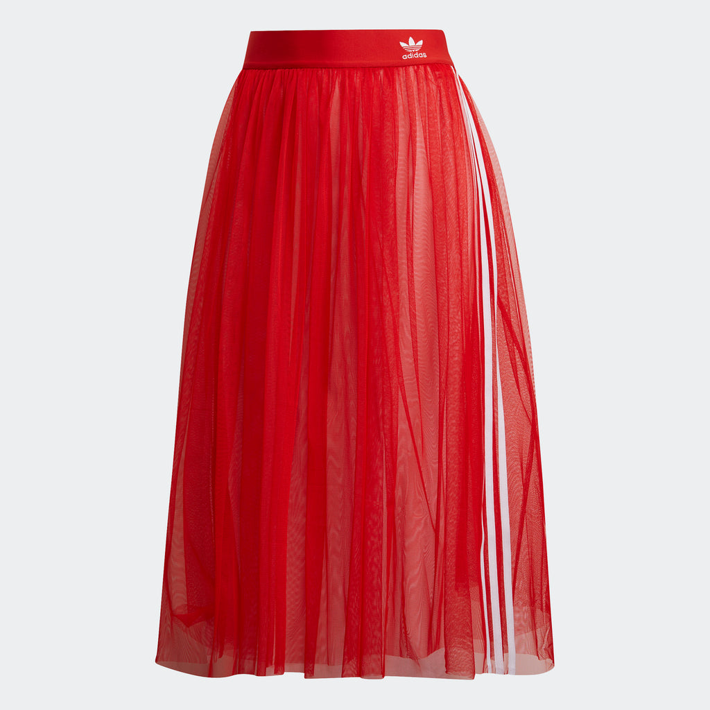 Women's adidas Originals Tulle Skirt Red