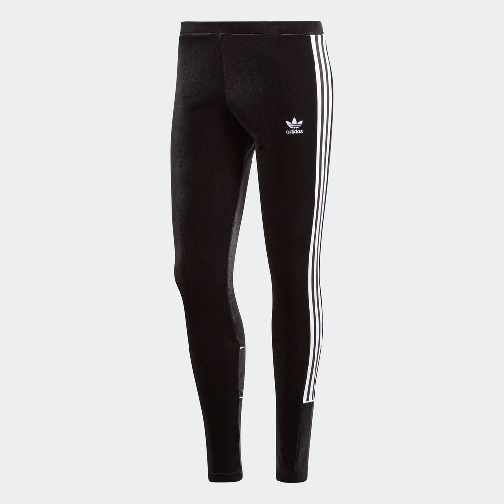 Women's adidas Originals Velvet Leggings Black
