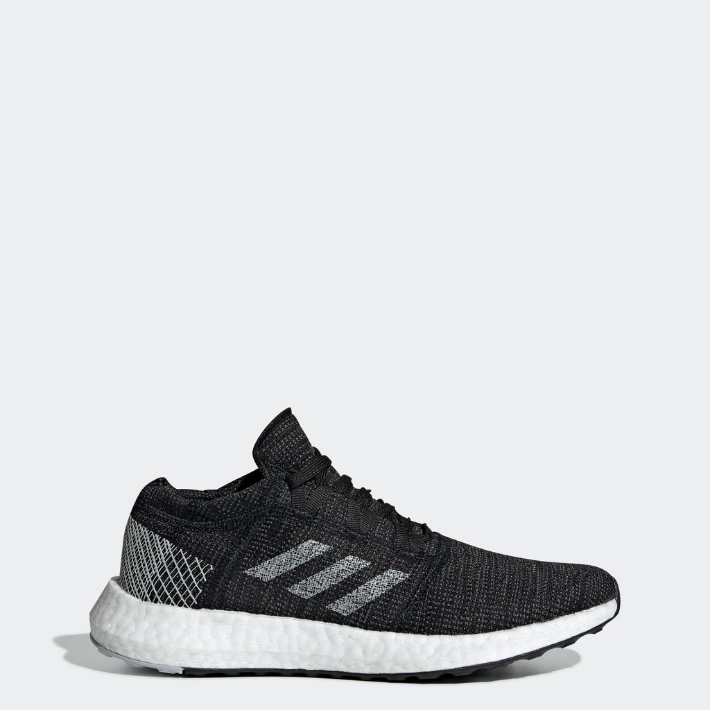 Women's adidas Running PureBOOST Go Shoes Black Grey