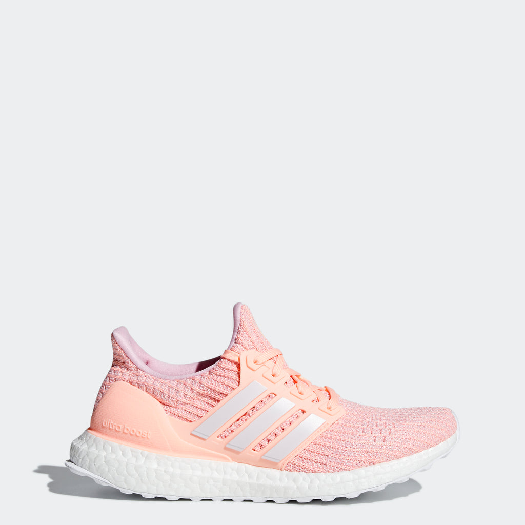 Women's adidas Running Ultraboost Shoes Clear Orange