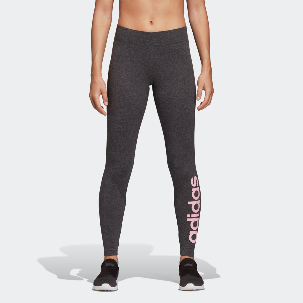 Women's adidas Training Essentials Linear Leggings Dark Grey