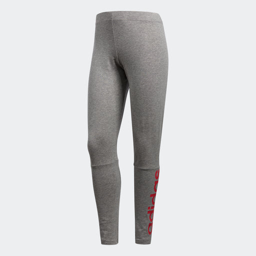 Women's adidas Essentials Linear Leggings Gray Heather