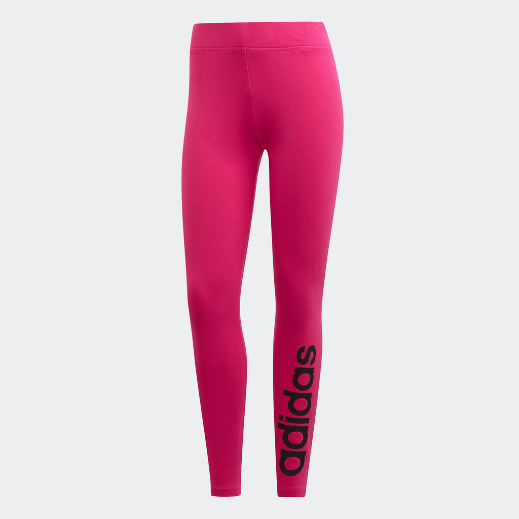 Women's adidas Training Essentials Linear Leggings Real Magenta