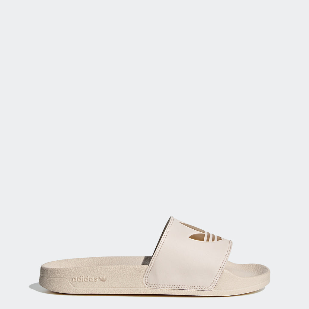 Women's adidas Adilette Lite Slides Linen SKU FW0541 | Chicago City Sports | side view