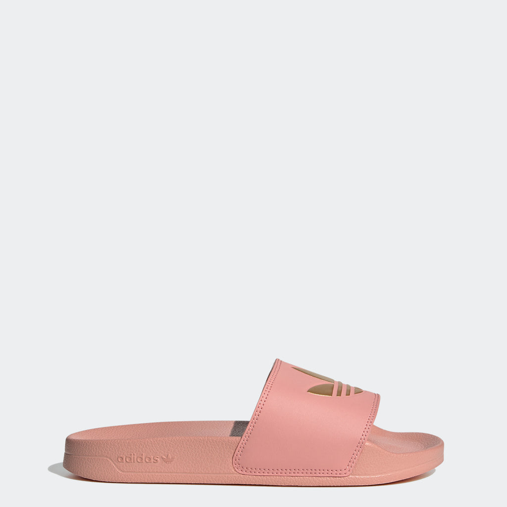 Women's adidas Adilette Lite Slides Trace Pink SKU FW0543 | Chicago City Sports | side view