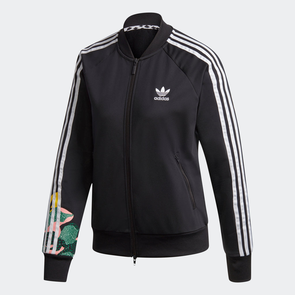 Women's adidas Originals HER Studio London Track Jacket GC6849 | Chicago City Sports | front view