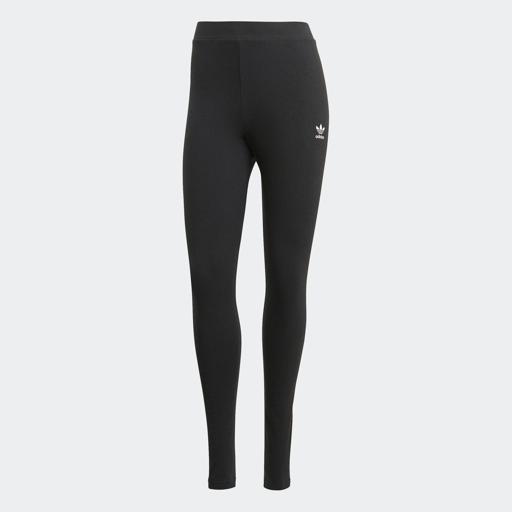 Women's adidas Loungewear Leggings Black GN8271 | Chicago City Sports | front view