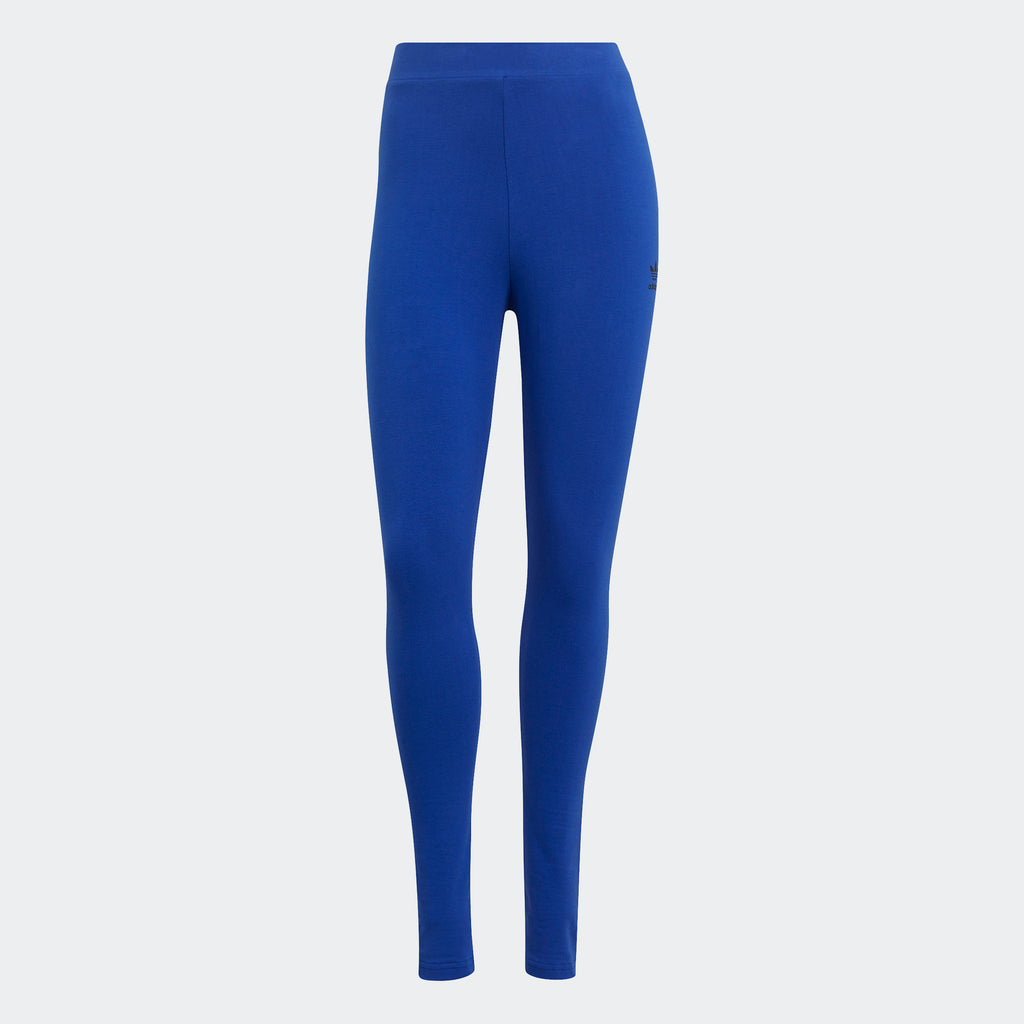 Women's adidas Originals Loungewear Leggings Blue GN8267 | Chicago City Sports | front view