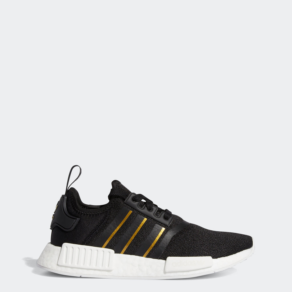 Women's adidas Originals NMD_R1 Shoes Black Gold