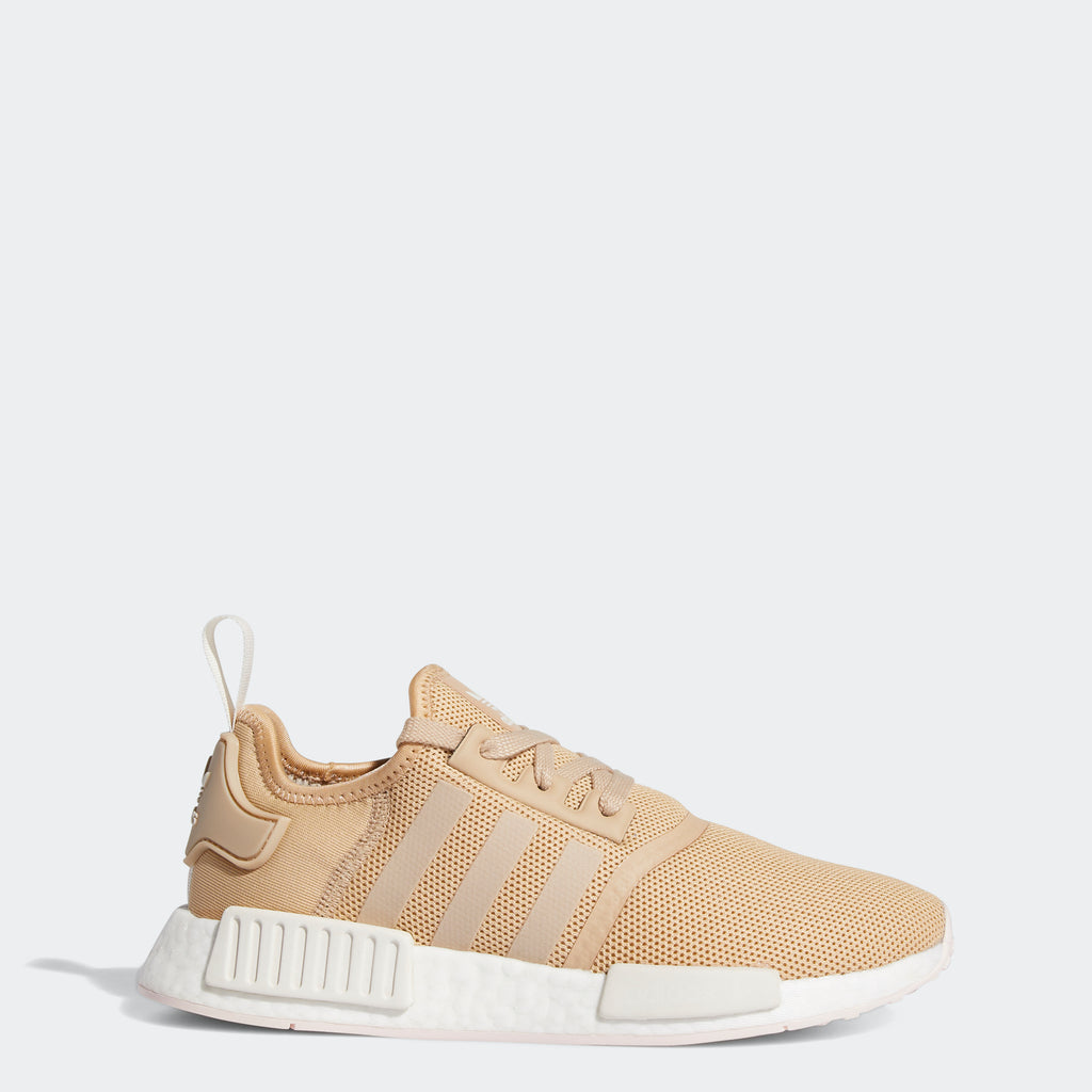 Women's adidas Originals NMD_R1 Shoes Pale Nude FW6431 | Chicago City Sports | side view