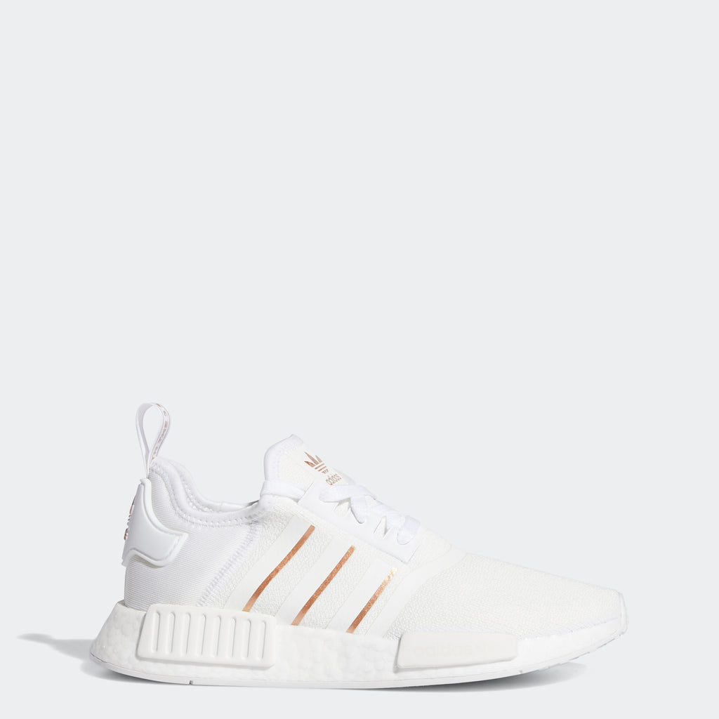 Women's adidas Originals NMD_R1 Shoes White Rose Gold
