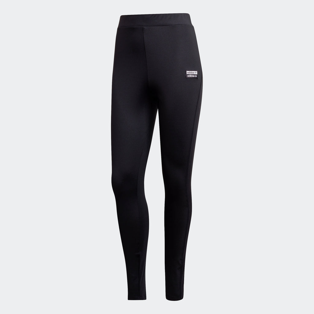 Women's adidas Originals R.Y.V. Leggings Black GK0694 | Chicago City Sports | front view